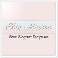 Elite Minima : Free Premium Blogger Template