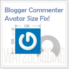 How to Fix The Improper Blogger Comments Avatar Image