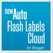New Easy Install Flash Animated Label Cloud Widget For Blogger