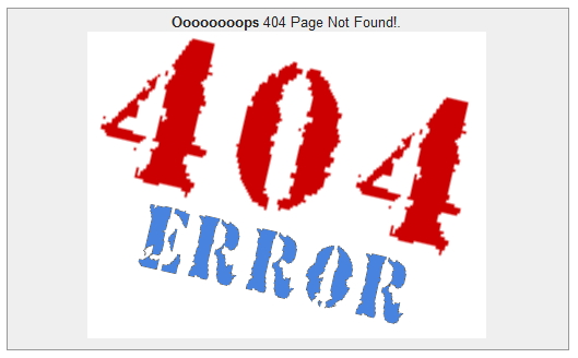 Blogger seo is made easy with new search preference option for 404 not found html template